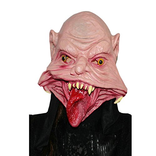 NXDA Ghosts Latex Mask Horror Novelty for Halloween Costume Party Decorations (Scary Asian Halloween Costumes)