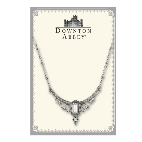 Downton Abbey Collection White Crystal Statement 17530
