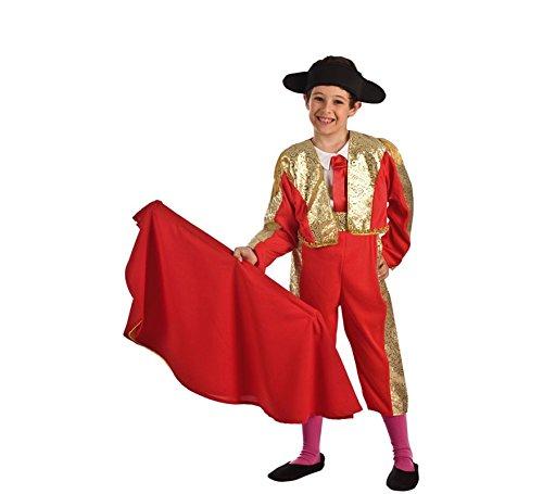 Disfraz de Torero Rojo para niño: Amazon.es: Juguetes y juegos
