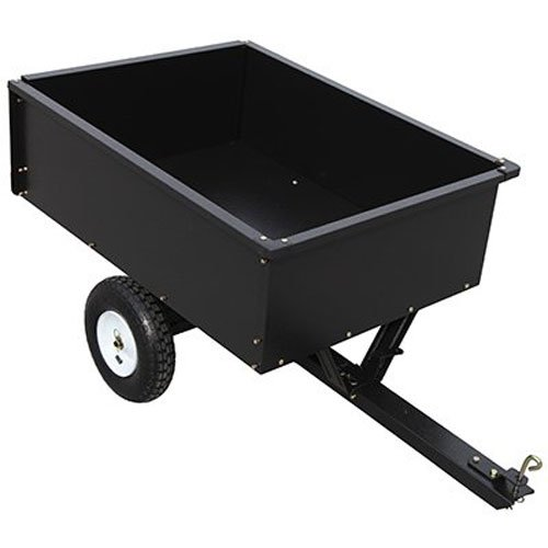 YTL INTERNATIONAL YTL22139 10 Cu. ft. Master Rancher Maximum Capacity Steel Dump Cart, 400 lb