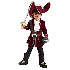 Disney Captain Hook Costume for Kids – Peter Pan Red