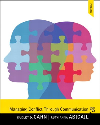 Managing Conflict through Communication (5th Edition) by Brand: Pearson
