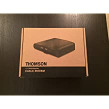 Thomson Technicolor DCM476 Cable Modem with LATEST FIRMWARE Docsis 3.0