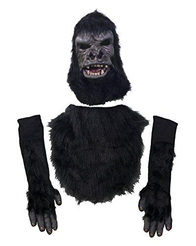 Zagone Studios Men's Two Bit Roar Costume Kit, Black, One Size