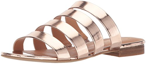 Coconuts by Matisse Women's Perry Flat Sandal, Gold, 6 M US