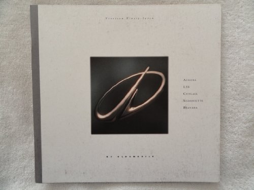 1997 OLDSMOBILE AURORA / LSS / CUTLASS / SILHOUETTE / BRAVADA COLOR SALES BROCHURE - 9/96 - USA - EXCELLENT !!