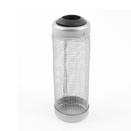 Uxcell Aquarium Stainless Steel Filter Guard Mesh Fish Shrimp, 12mm