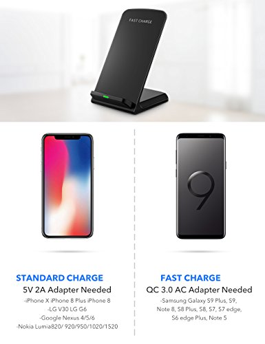 seneo-iphonex-wireless-charger-qi-certified-10w-fast-wireless-charger-charging-pad-standno-ac-adapter-for-galaxy-s9s9-note-85-s8s8-s7s7-edge-s6-edge-standard-qi-charger-for-iphonex88