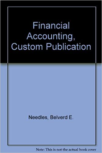 Book Financial Accounting, Custom Publication