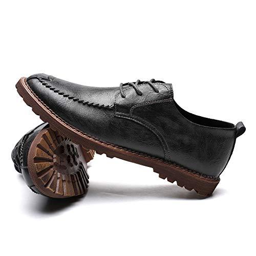 EU Grigio Scarpe Xiaojuan stile casual casual tondo Dimensione uomo Oxford Gray caldo Uomo opzionale semplice 43 nuovo da Color Scarpe shoes Warm classico stile Pelle qSgwAWpg