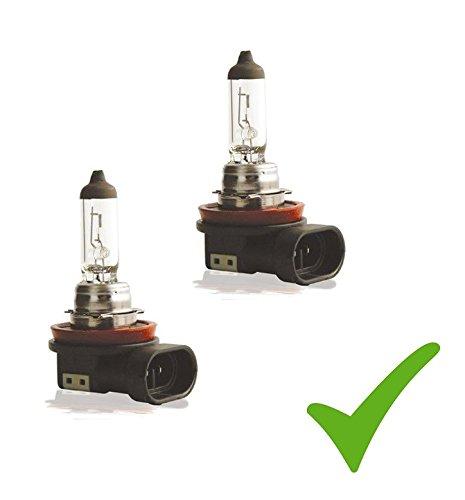 Pratique Double Set. (Prix de base: 5 EUR/Stk) 2 x H11 12 V 55 W Pgj19– 2 ampoules Phare Ampoule halogè ne Lampe de lampe de voiture Bresetech