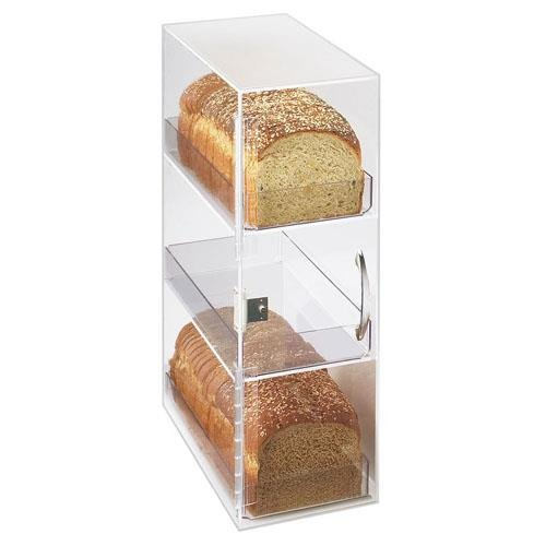 """Cal-Mil 1204 Classic 3 Tier Bread Case, 7"""" Width x 12"""" Depth x 20"""" Height, Clear from Cal Mil"""