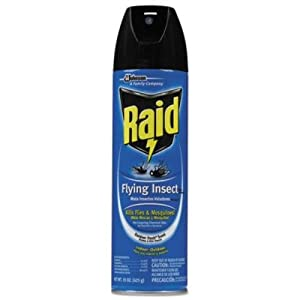 Raid Flying Insect Killer Insecticide Spray, 15 oz-2 pk
