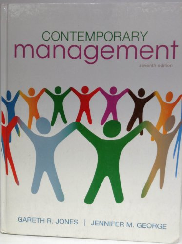 978-0-07-811269-0 Contemporary Management 7th Edition