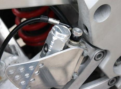 Gsg Moto Bremsbehälter Schwarz Hinten Passend Für Die Cbr 900 Rr Sc28 Sc33 1992 1999 Abe Auto