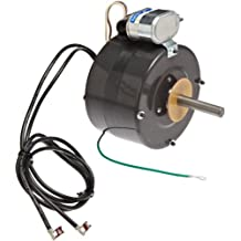 Fasco D1050 5-Inch Frame Open Ventilated Permanent Split Capacitor Fan Coil Air-Conditioning and Heating Unit Motor with Ball Bearing, 1/8HP, 1550RPM, 230V, 60Hz, 1.1 Amps