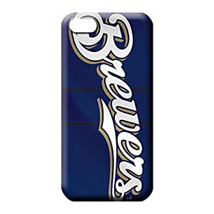 iphone 5 5s Strong Protect Plastic stylish cell phone shells milwaukee brewers mlb baseball