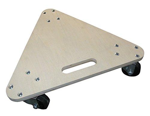 20 x 20 Deck Size 20 Width 20 Length 5 Height 20 Width PT-15-03-320-3PH 5 Height BOXED Load Capacity 20 Length BOXED 450 lb Polyolefin Wheels - PT Series Poplar Dollies The Fairbanks Company PT-15-03-320-3PH