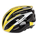 MOON Cycling Yellow PC+EPS 28 Vents Protective Helmet