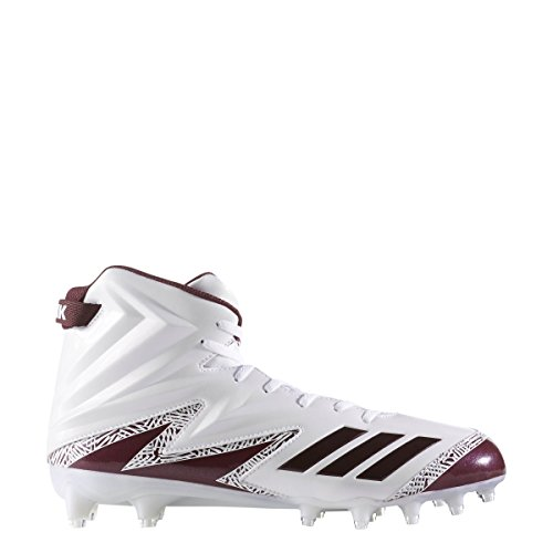 size 40 65378 b85d0 Adidas Freak X Carbon High Cleat Mens Football Bianco-marrone