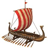 Design Toscano Drekar the Viking Longship Museum Replica (Set of 2)