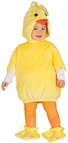 Girls Boys Baby Chick Chick Animal Farmyard Mini Beast Halloween Easter Christmas Xmas Carnival Festival Fancy Dress Costume Outfit 6-24 Months (6-12 months) ()