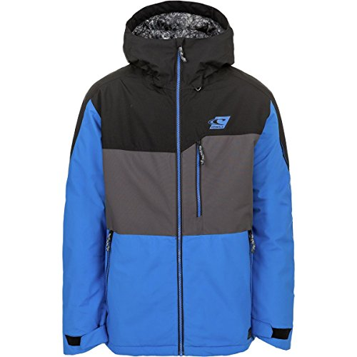 Oneill Snowboard Jackets (O'Neill Mens Exile Jacket Victoria Blue LG One Size)