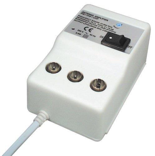 Transmedia FP8iRL 2 Geräte Antennenverstärker (47-862MHz, Verstärkung 20dB, regelbar 0-10dB)