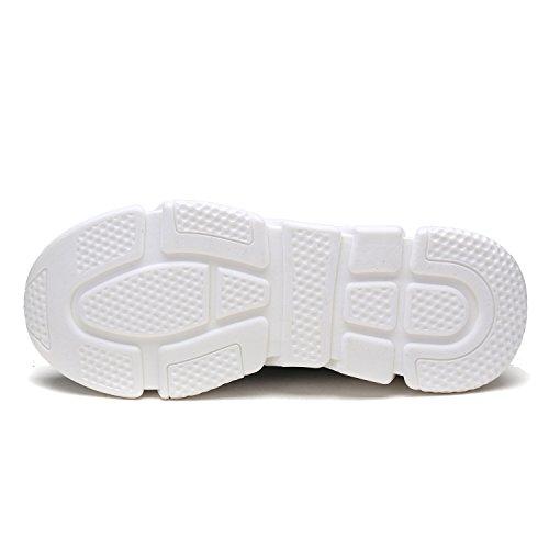 Dröm Par Mens 170844m Lätt Andas Mode Sneakers Sport Promenadskor 170.845 Svart Dk.grey