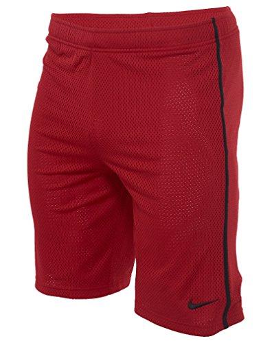 hletic Shorts Large Red (Nike Youth Mesh)