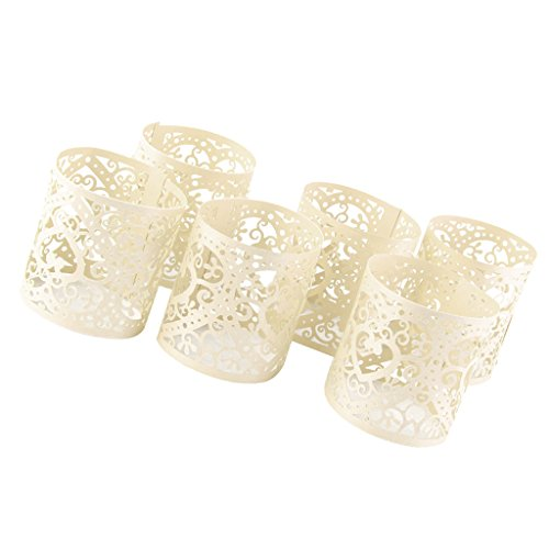 - Jili Online 30pcs Cream Heart Tea Light Candle Holders Flameless Votive Candles Wrap Decoration Supplies for Home Wedding Party