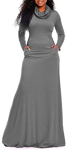 cowl neck belt sweater dress - 5