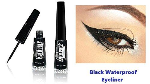 New Kleancolor Black Waterproof Liquid Eyeliner Pen Full Size Matte