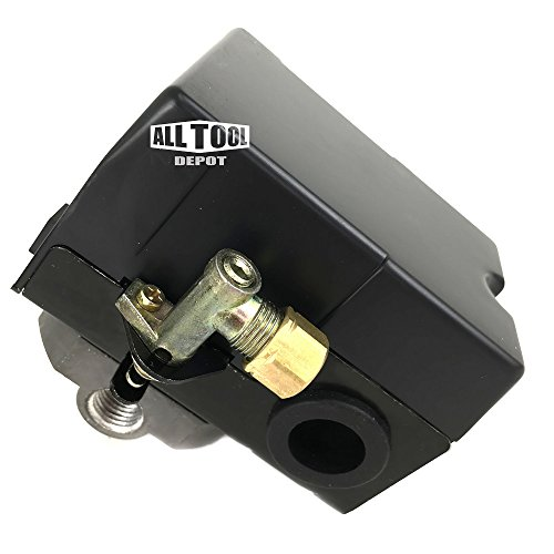 Husky Pressure Switch 4 Ports Replacement w/ Unloader 90 degree Angle