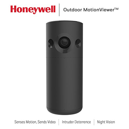 Honeywell RCHSOMV1 Smart Home Security Outdoor MotionViewer, Black