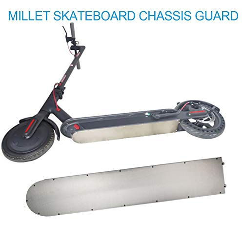 Dacyflower,Anti - Collision Non - Slip Floor Guard Plate Chassis Armor Protection Board Chassis,Scooter Battery Cover for xiaomi Mijia M365 Electric Scooter