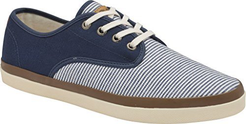 Gola Men's Seeker Stripe Plimsoll,Navy Canvas,US 7 M