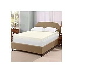 serta ultimate 4 inch memory foam mattress topper king home kitchen. Black Bedroom Furniture Sets. Home Design Ideas