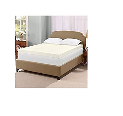 Amazon Com Serta Ultimate 4 Inch Memory Foam Mattress Topper Full