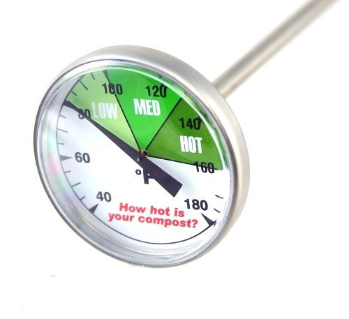 Premium Compost or Soil Thermometer with 20