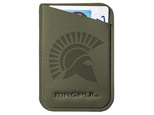 Magpul DAKA Micro Wallet MAG762 ODG Laser Engraved Spartan Helmet 2