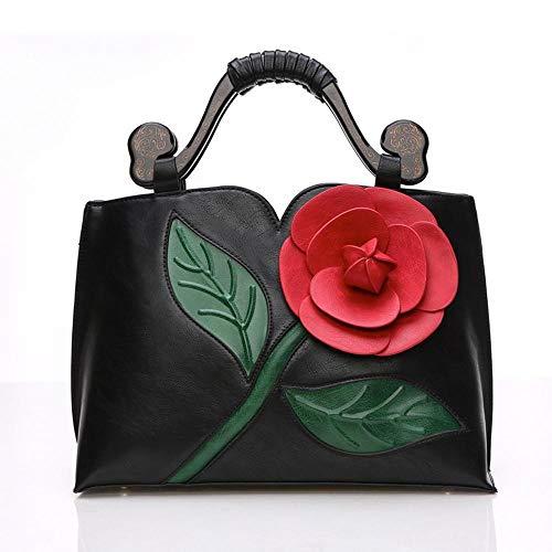 Roses Bandoulière 01 Classique Dimensions en Femmes 7 Sac Messenger 5 CM Bag 13 35 À PU Trois Sac À 24 Main Couleurs Rétro ANLEI 6111 6A84yFFc