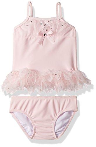 Mack Kate Swimsuit Piece 2 - Kate Mack Girls Fairy Dance 2pc Swimsuit, Pink, 24M