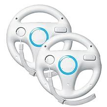 Mario Kart Racing Wheel for Wii, 2 Pieces