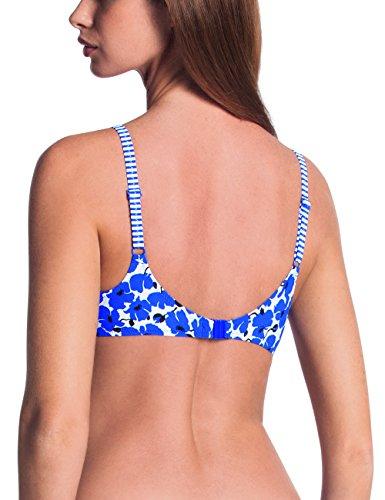 Blu Faia 354 Rosa Bikini Federica Blue French Oberteil Donna 4nwqgd