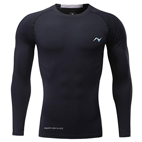 Nooz Mens Cool Dry Sleeveless Compression Tank Top Shirt