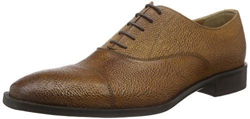Kenneth Cole Herren Coat N Tie Oxford Braun (Cognac 901)