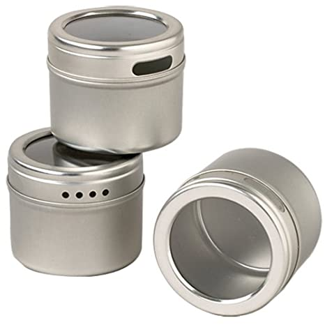Exceptionnel Kamenstein Magnetic Storage Tins, Set Of 6