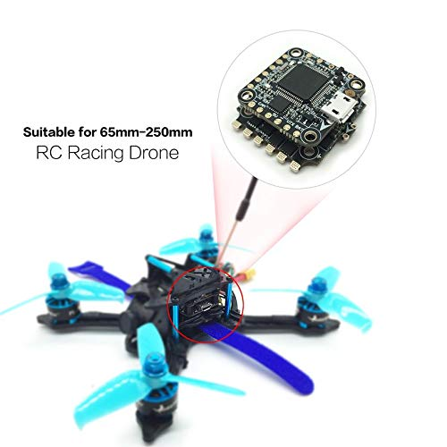 Wikiwand HGLRC XJB F438 F4 Flight Controller OSD 4in1 38A Blheli_S ESC for RC Drone by Wikiwand (Image #4)