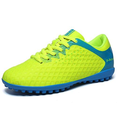 Xing Lin Fußballschuhe Jugend Fußball Schuhe Jungen Und Mädchen Schüler Jungen Gebrochen Nägel Tf Leder Kunstrasen Sportschuhe green